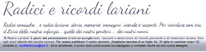 Radici e Ricordi Lariani